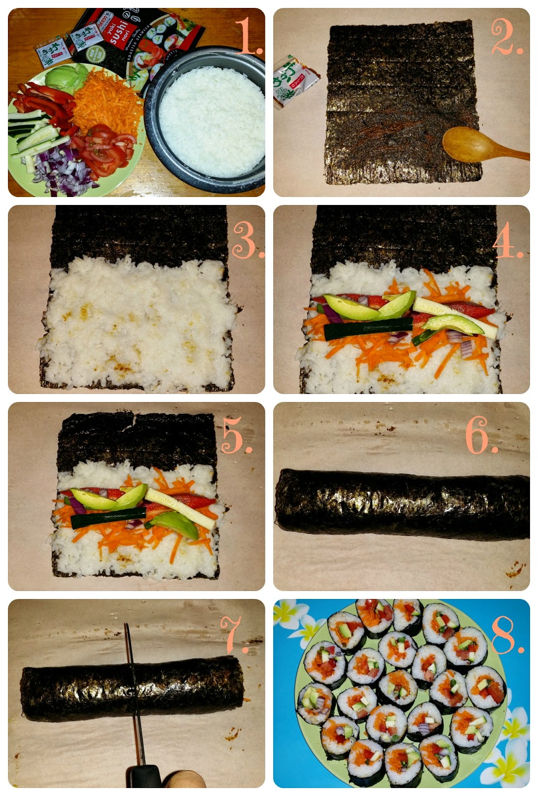 easy vegan suchi